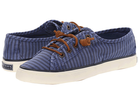 Sperry Top-Sider - Seacoast Striped Oxford Cloth (Blue) Women