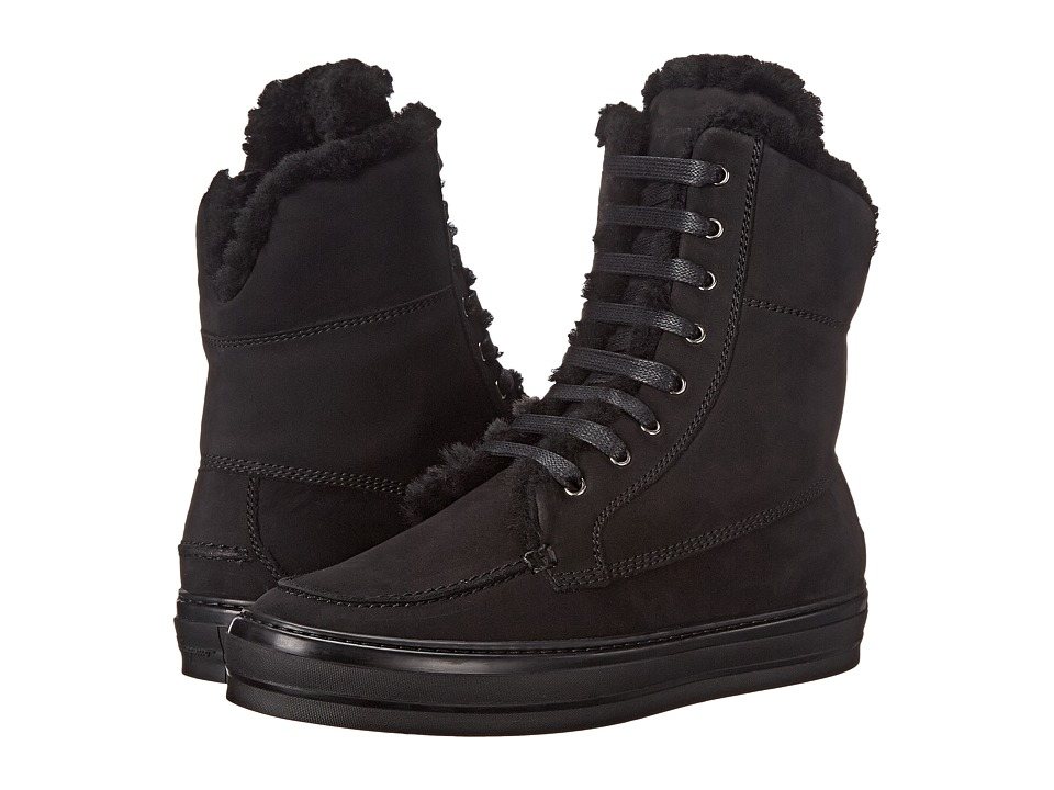 Salvatore Ferragamo High-Top Sneaker (Nero) Women