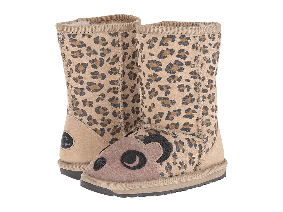 EMU Australia Kids - Cheetah (Toddler/Little Kid/Big Kid) (Sand) Girls Shoes
