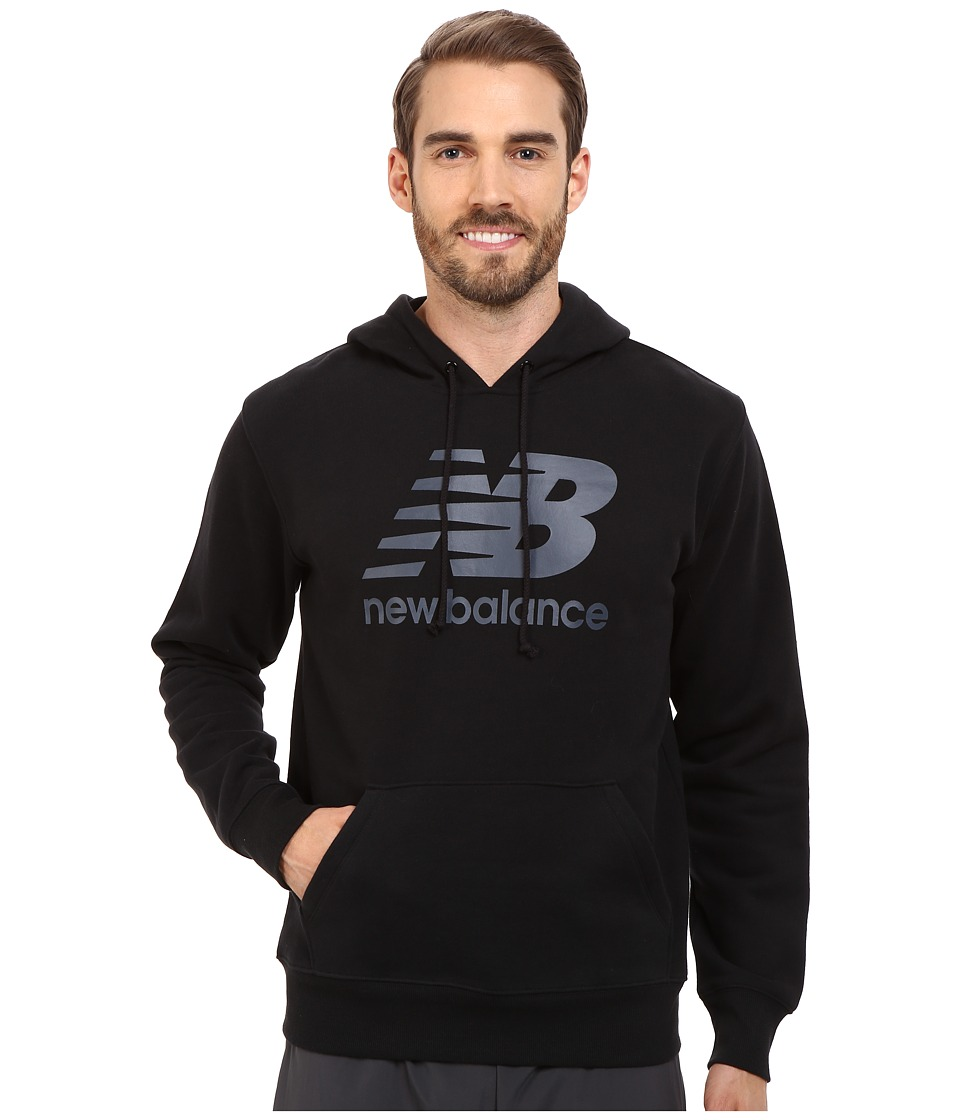 New Balance - Essentials Hoodie (Black) Men's Sweatshirt