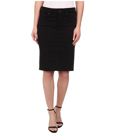 Mavi Jeans - Kitty Pencil Skirt in Jet Black (Jet Black) Women
