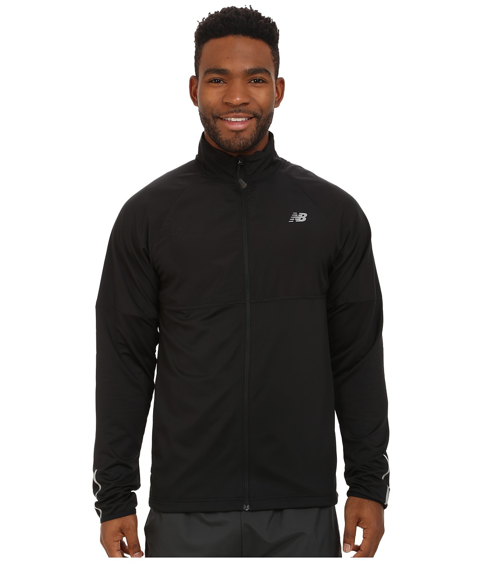 New Balance - Raptor Jacket (Black) Men's Coat