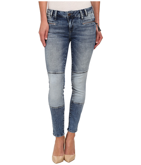 Mavi Jeans - Harper Low Rise Skinny in Blue Blocking (Blue Blocking) Women's Jeans