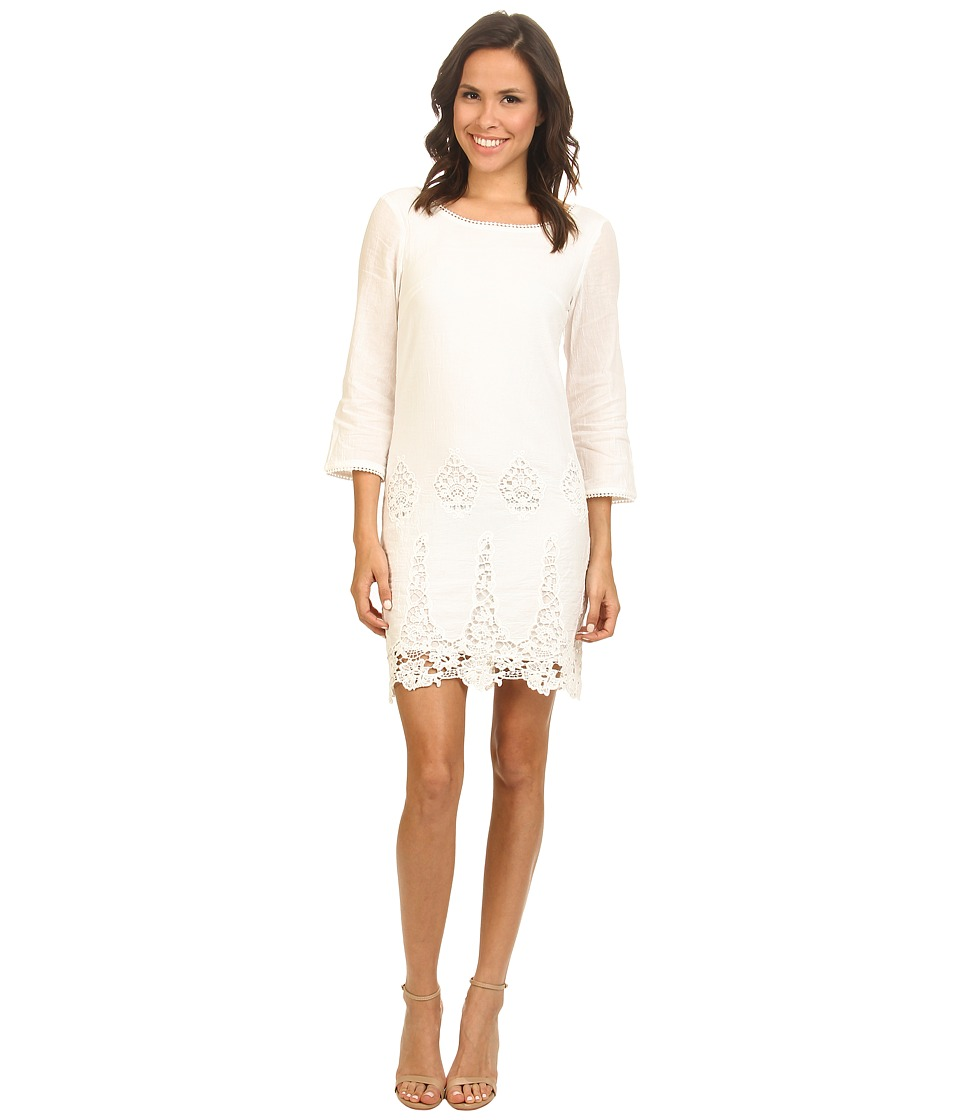 LAmade - Stella Cotton Lace Dress (Natural) Women's Dress