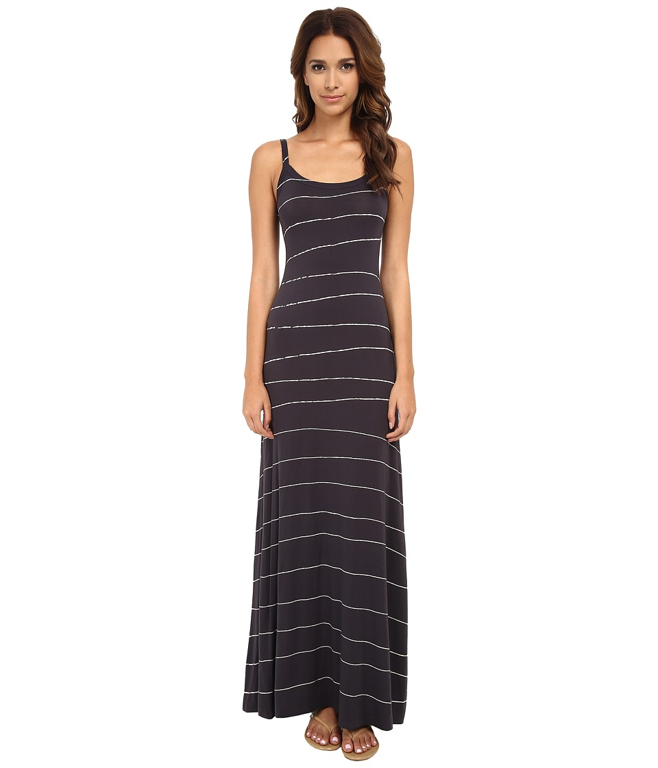 LAmade - Splatter Print Maxi Dress (Anthracite Grey) Women's Dress