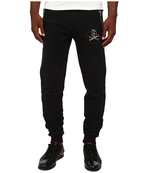 Philipp Plein - And One Jogging Pants (Black) Men's Casual Pants