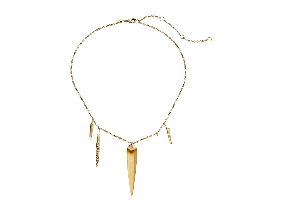 Alexis Bittar - Spike Necklace (Gold) Necklace