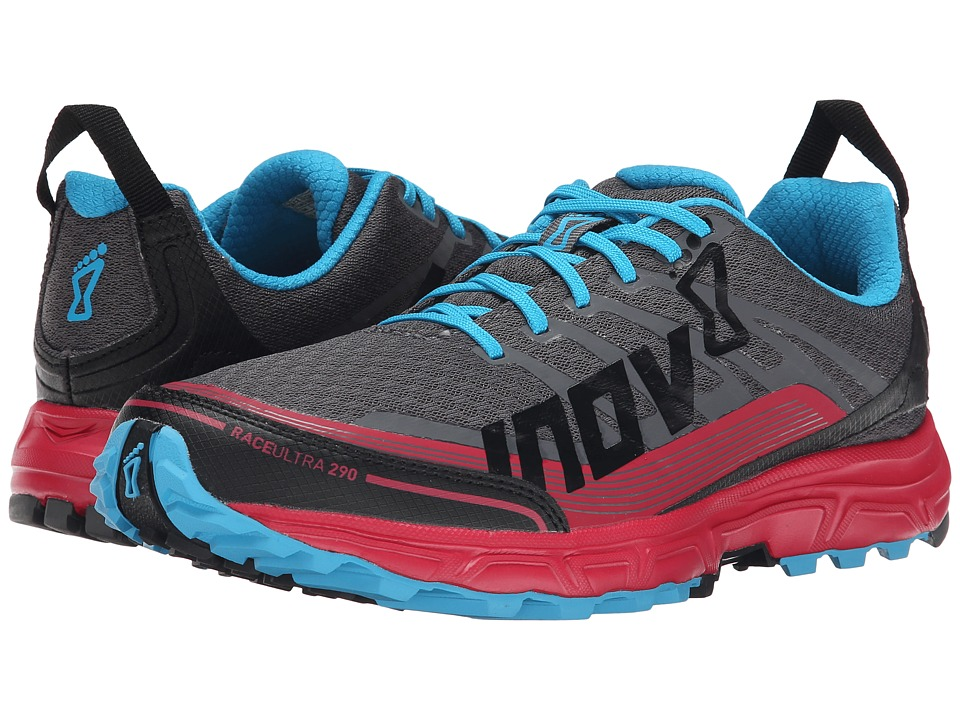 inov-8 - Race Ultra 290 (Grey/Berry/Blue) Women's Running Shoes