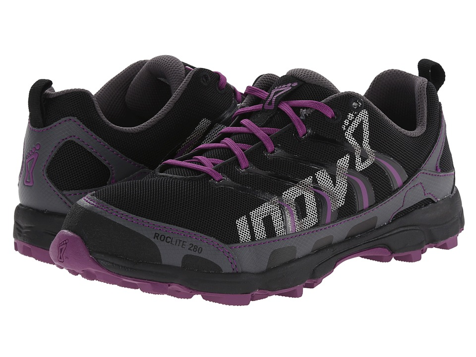inov-8 - Roclite 280 (Grey/Purple) Women's Running Shoes