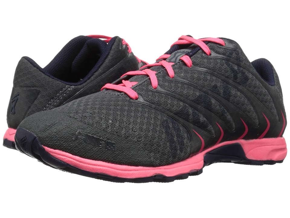 inov-8 - F-Lite 195 (Grey/Pink/Navy) Women's Running Shoes