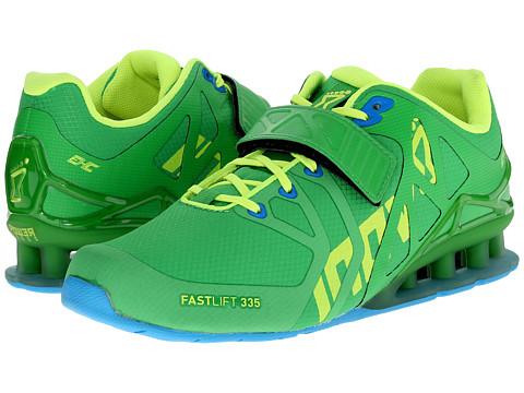 inov-8 - FastLift 335 (Green/Lime) Women's Running Shoes