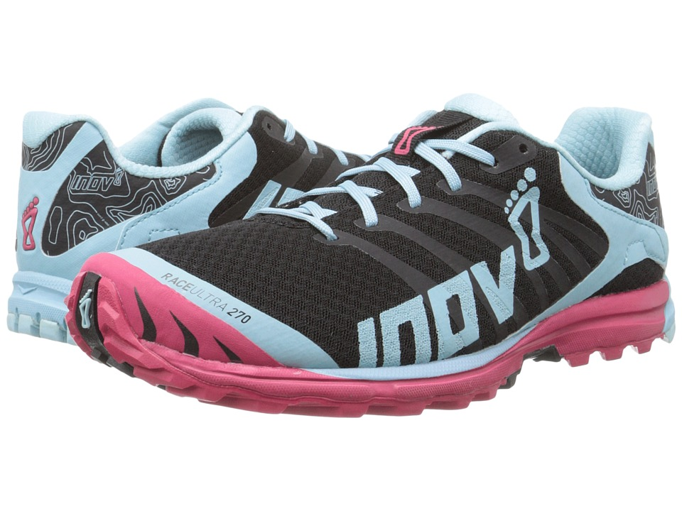 inov-8 - Race Ultra 270 (Black/Blue/Berry) Women's Running Shoes