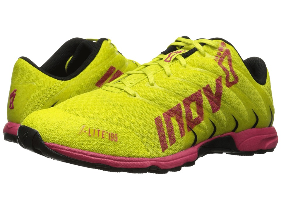 inov-8 - F-Lite 195 (Lime/Berry/Black) Women's Running Shoes