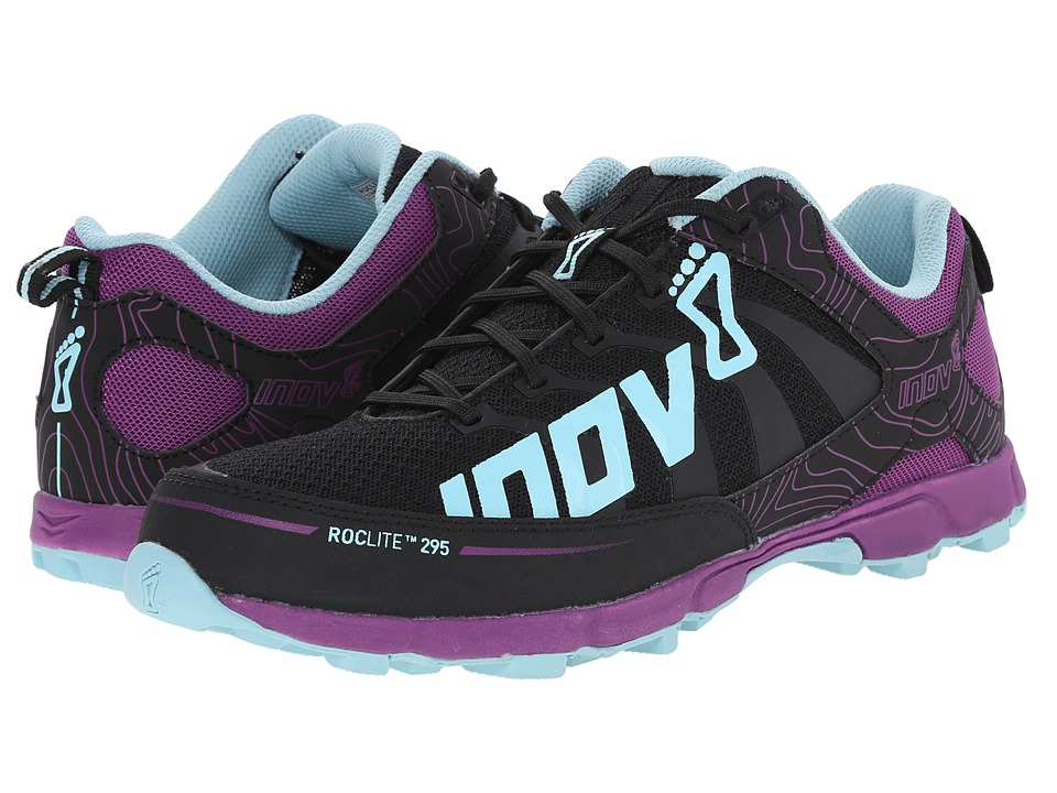 inov-8 - Roclite 295 (Grey/Purple/Blue) Women's Running Shoes
