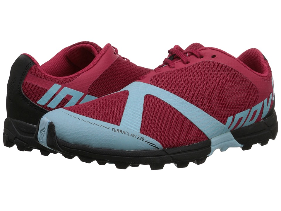 inov-8 - Terraclaw 220 (Berry/Blue/Black) Women's Running Shoes