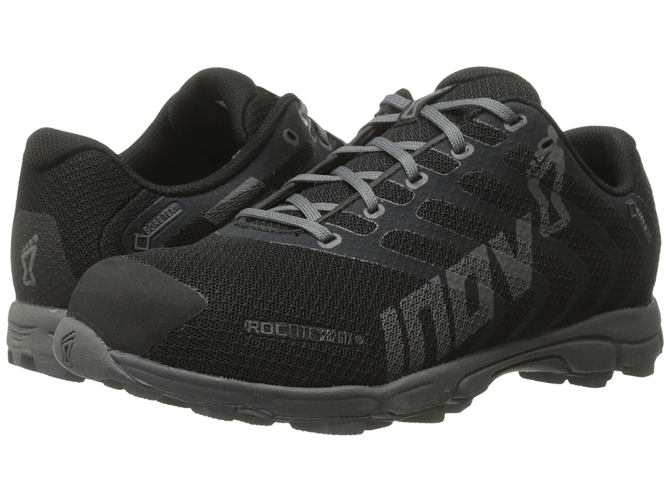 inov-8 - Roclite 282 GTX (Black/Grey) Women's Running Shoes