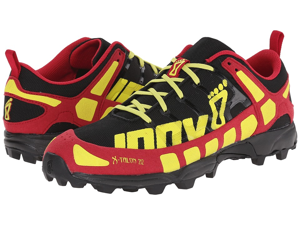 inov-8 - X-Talon 212 (Black/Berry/Lime) Women's Running Shoes
