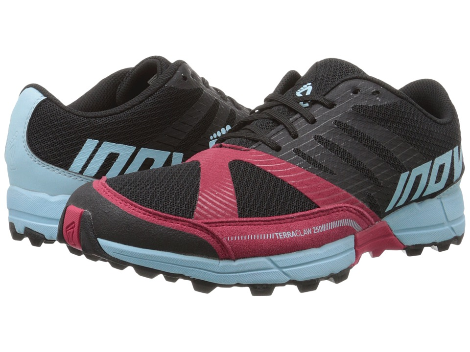 inov-8 - Terraclaw 250 (Black/Berry/Blue) Women's Running Shoes
