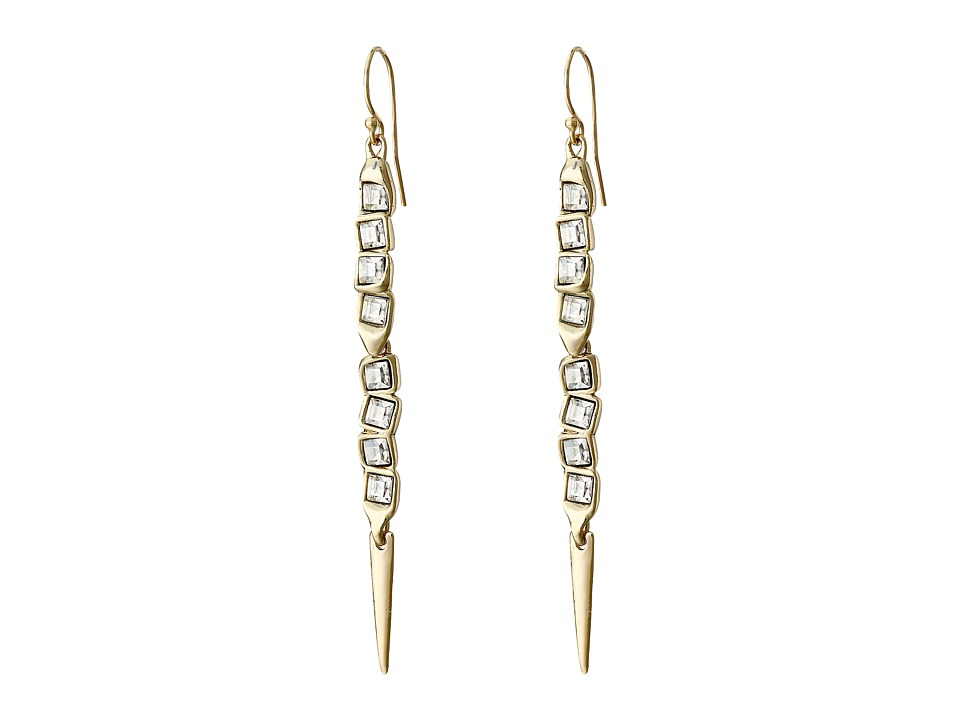 Alexis Bittar - Elongated Wire Earrings (10K Gold) Earring