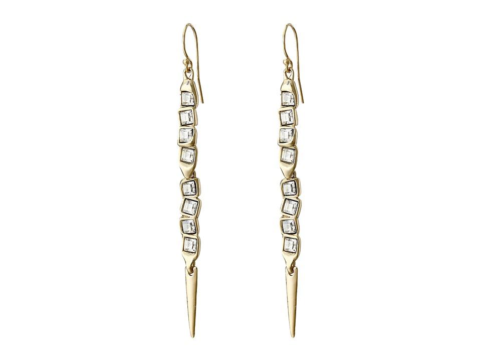 Alexis Bittar - Elongated Wire Earrings (10K Gold) Earring
