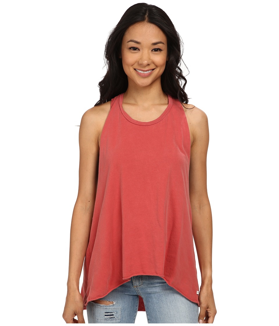 Obey - Paige Tank Top (Dusty Mineral Red) Women's Sleeveless