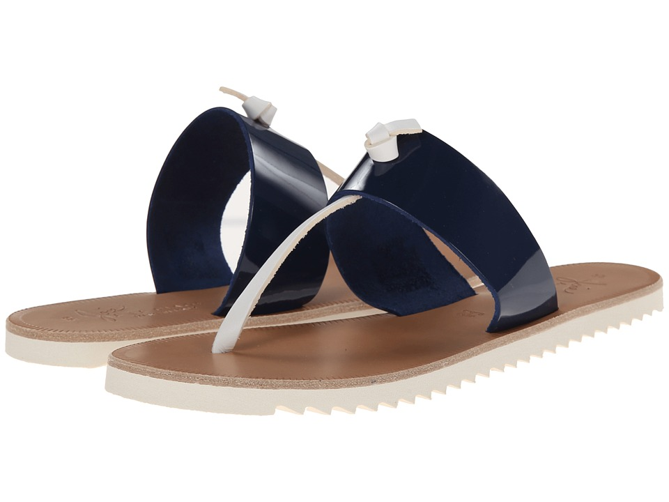 Joie - Malaga (French Blue/White) Women's Sandals