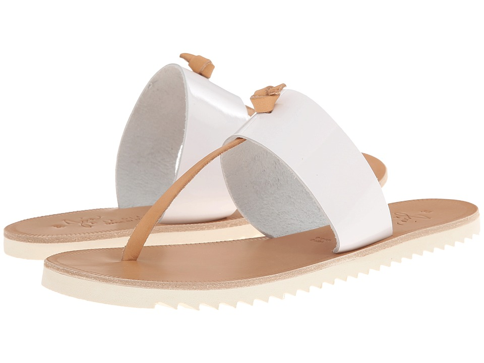 Joie - Malaga (White/Natural) Women's Sandals