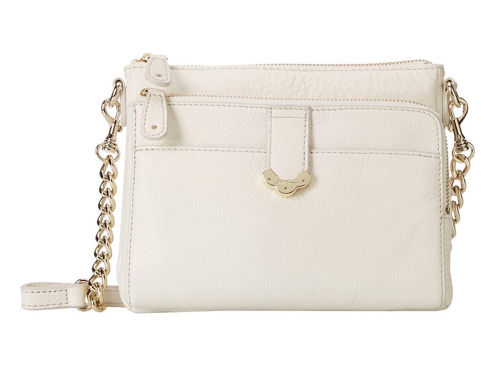 Jack Rogers - Celeste Small Crossbody (White) Cross Body Handbags