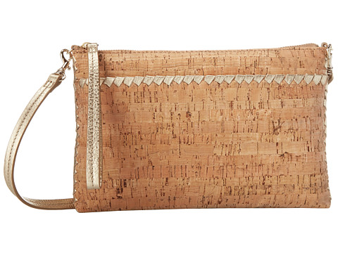 Jack Rogers - Alaina Crossbody (Cork/Gold Whip) Cross Body Handbags