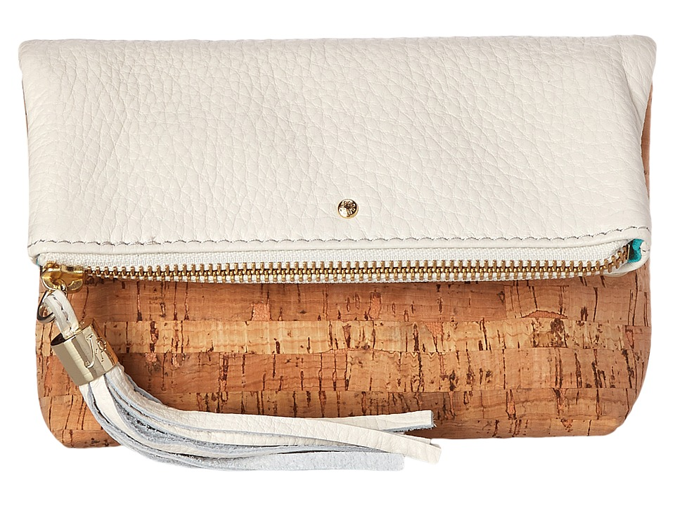 Jack Rogers - Gioia Mini (Cork/White) Cross Body Handbags