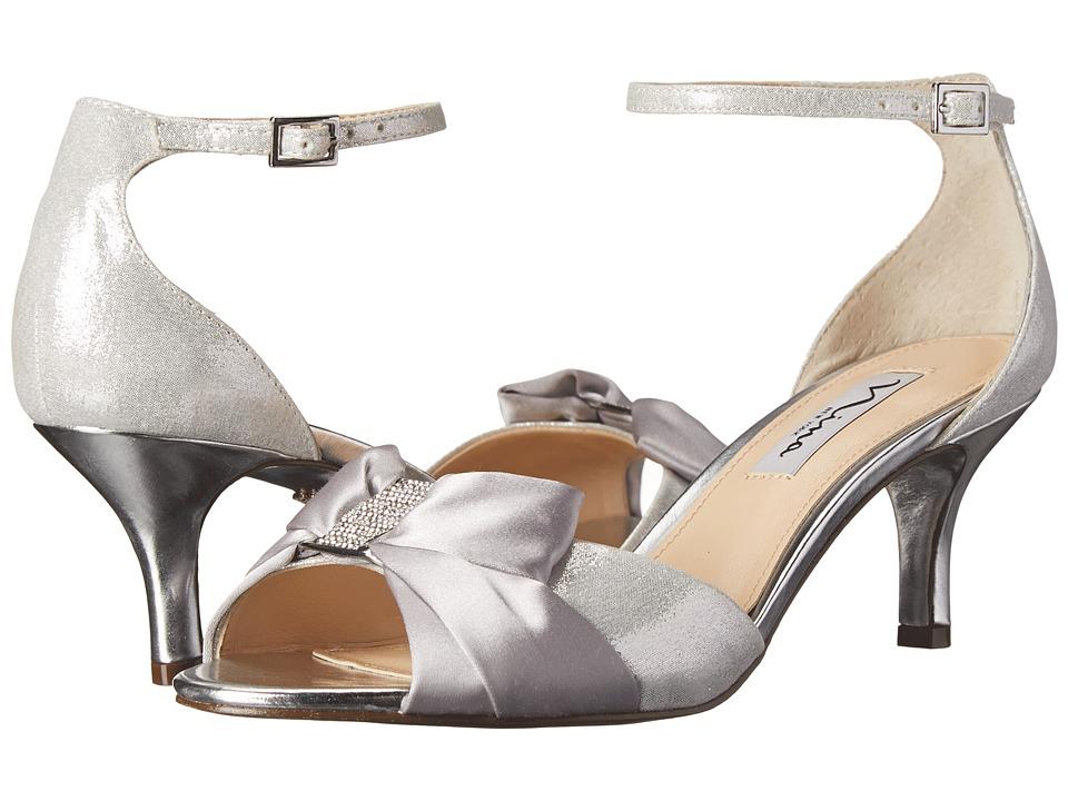 Nina - Cyprian (Silver) High Heels