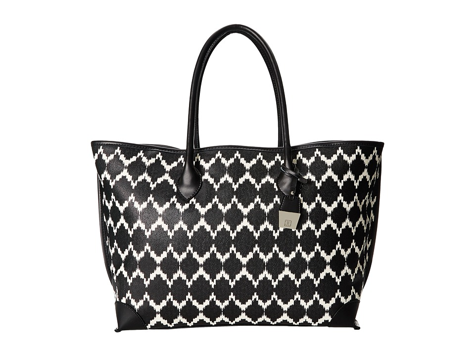 Ivanka Trump - Waikiki Shopper (Black Marrakesh) Tote Handbags