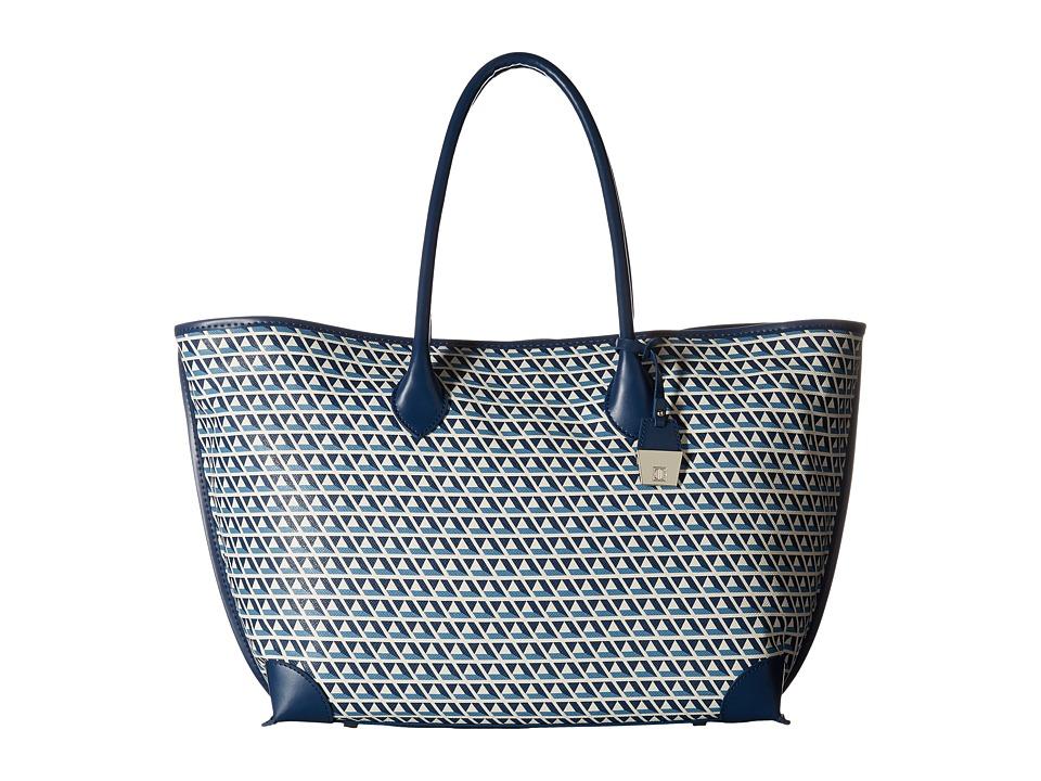 Ivanka Trump - Waikiki Shopper (French Blue Geo) Tote Handbags