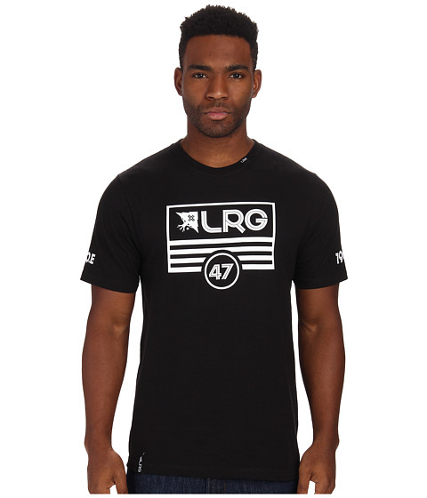 L-R-G - Lifted Flag Tee (Black) Men's T Shirt