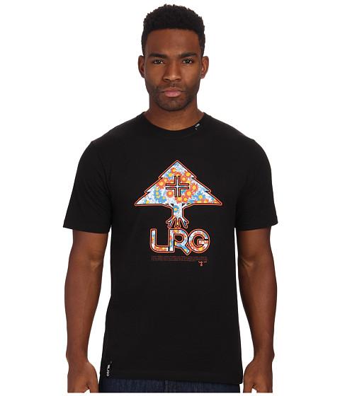 L-R-G - Floral Tree Fill Tee (Black) Men