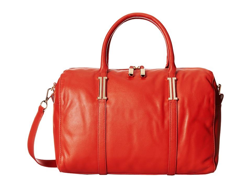 Ivanka Trump - Hudson Satchel (Orange Nappa) Satchel Handbags
