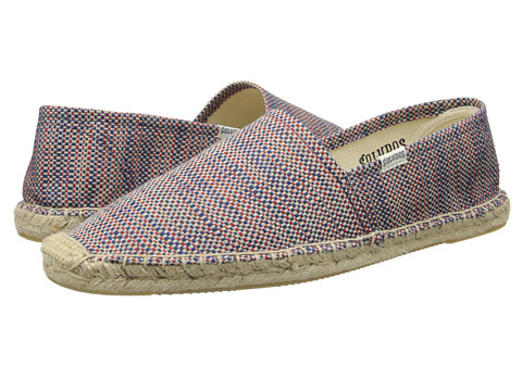 Soludos - Original Print (Red/Blue/Union Jack) Men's Slip on Shoes