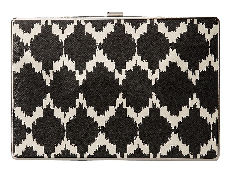 Ivanka Trump - Ivanka Box Minaudiere (Black Marrakesh) Handbags