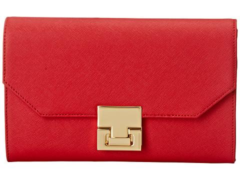 Ivanka Trump - Hopewell Passport Organizer (Lipstick Saffiano) Handbags