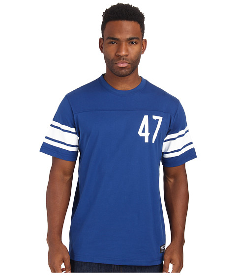 L-R-G - Short Sleeve Jersey Knit (Gibson Blue) Men's T Shirt