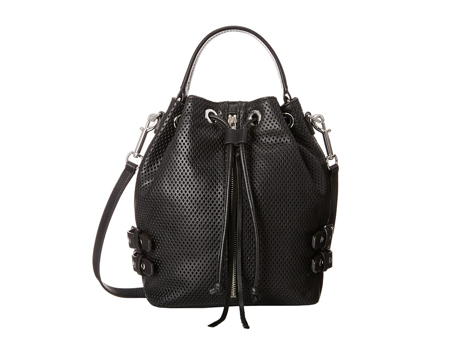 Rebecca Minkoff - Moto Bucket (Black) Handbags