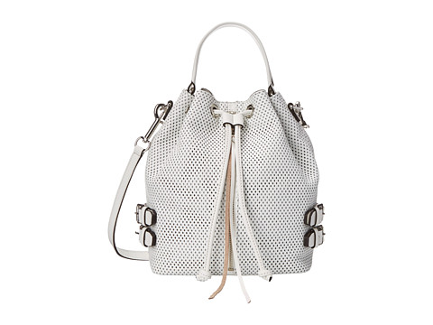 Rebecca Minkoff - Moto Bucket (White) Handbags