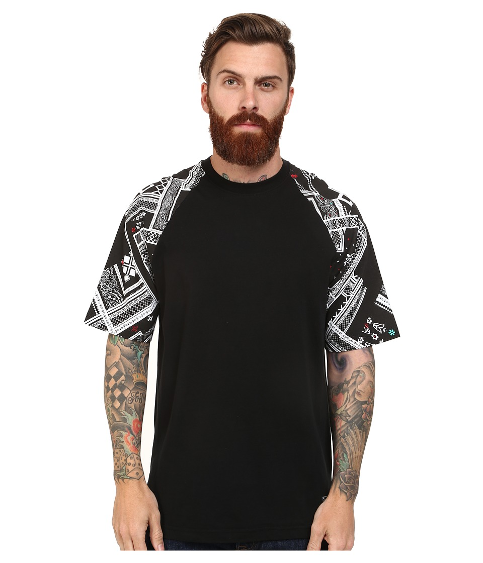 L-R-G - Borracho Short Sleeve Knit (Black) Men's Short Sleeve Knit