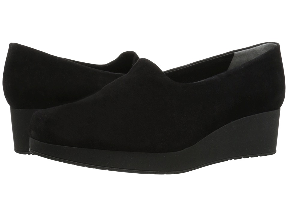 Robert Clergerie Naloj (Black Suede) Women