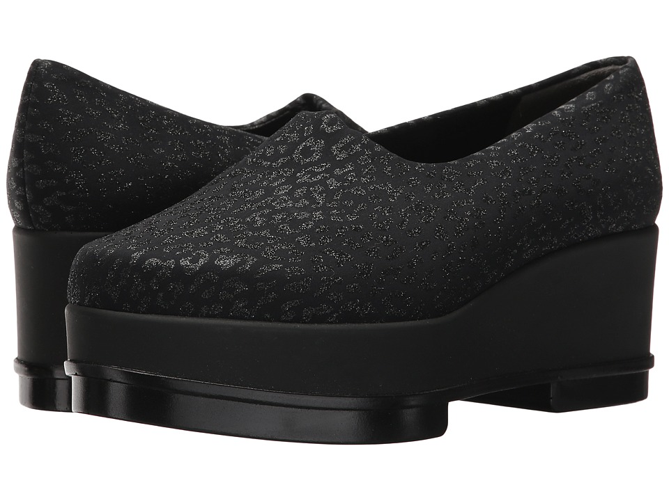 Robert Clergerie - Yalyl (Leopard Stretch) Women's Slip on Shoes