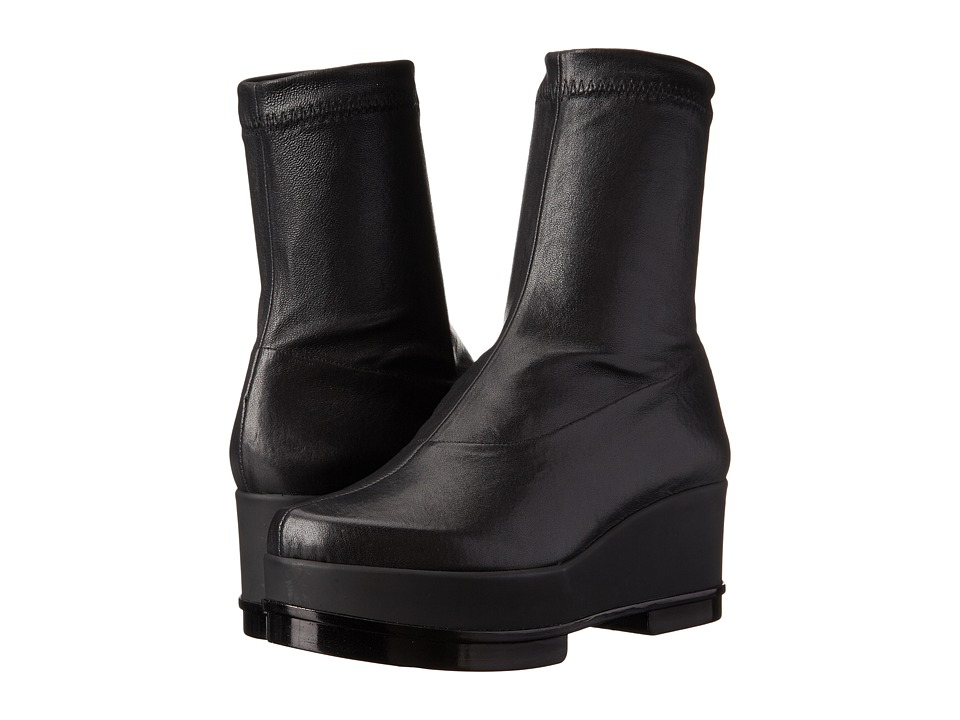 Robert Clergerie - Youj (Black Nappa Stretch) Women's Pull-on Boots