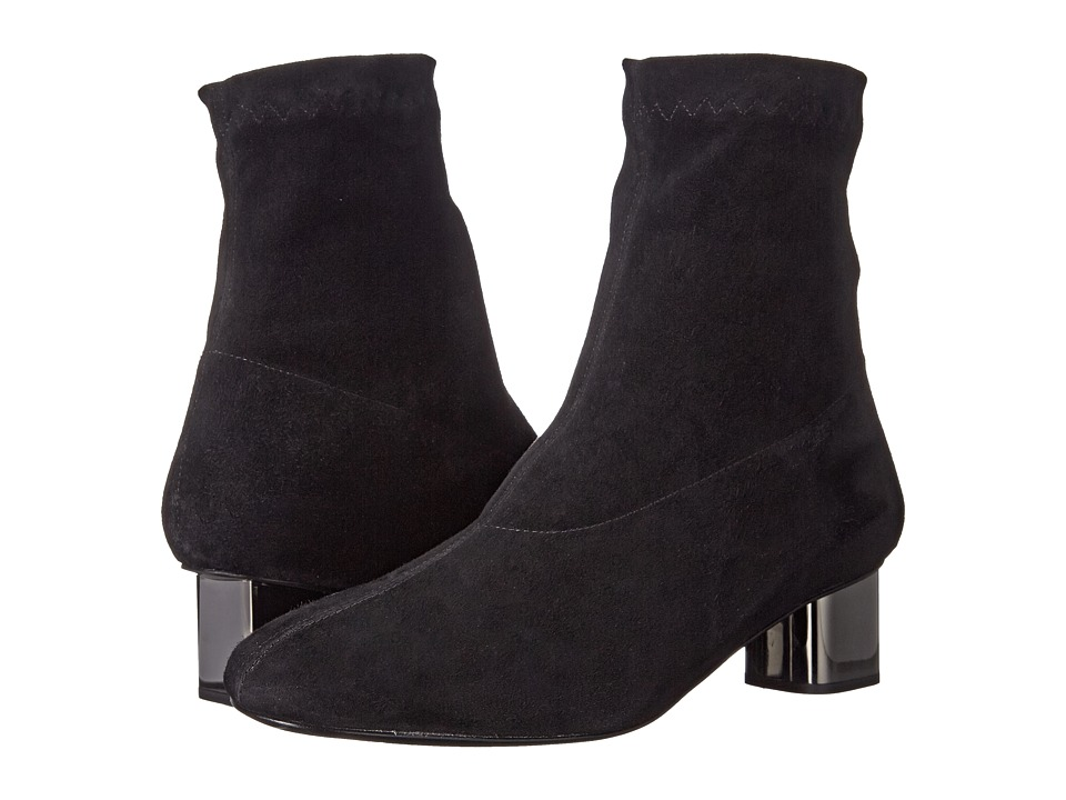 Robert Clergerie Pili (Black Suede Stretch) Women