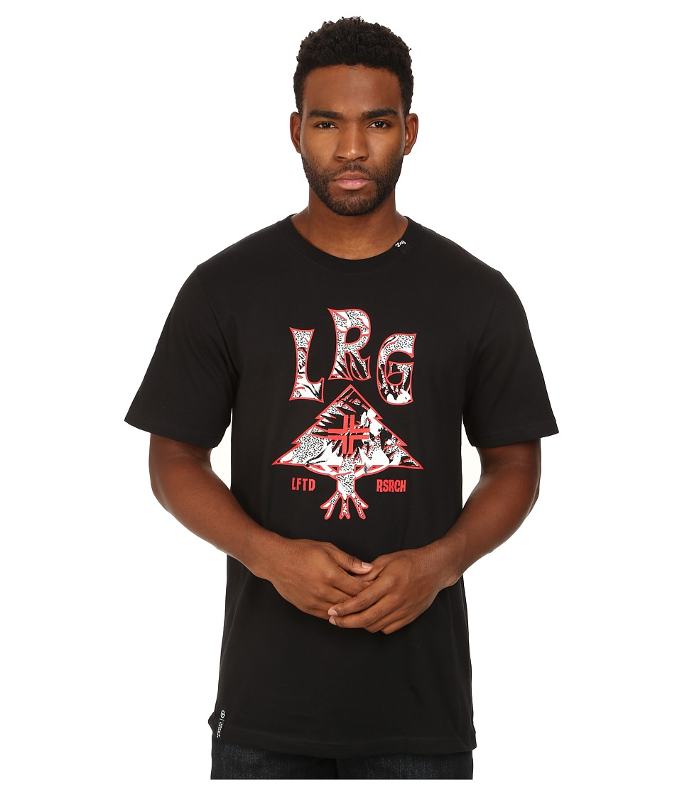 L-R-G - Everywhere Lockup Tee (Black) Men's T Shirt