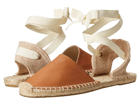 Soludos - Classic Sandal Leather (Tan) Women