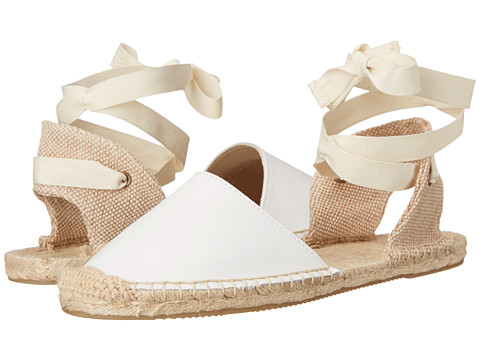 Soludos - Classic Sandal Leather (White) Women